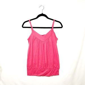 Romy Pink Tank Top Size XS